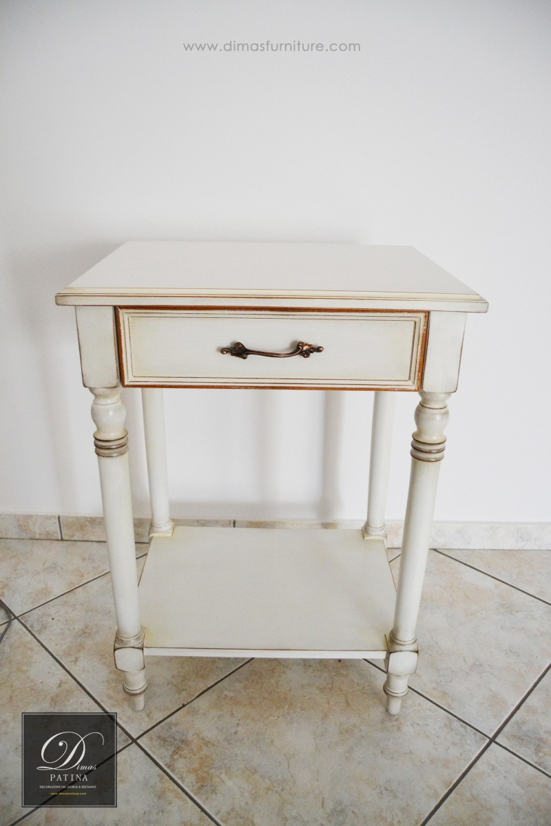 TOTAL WHITE PATINA SMALL 8